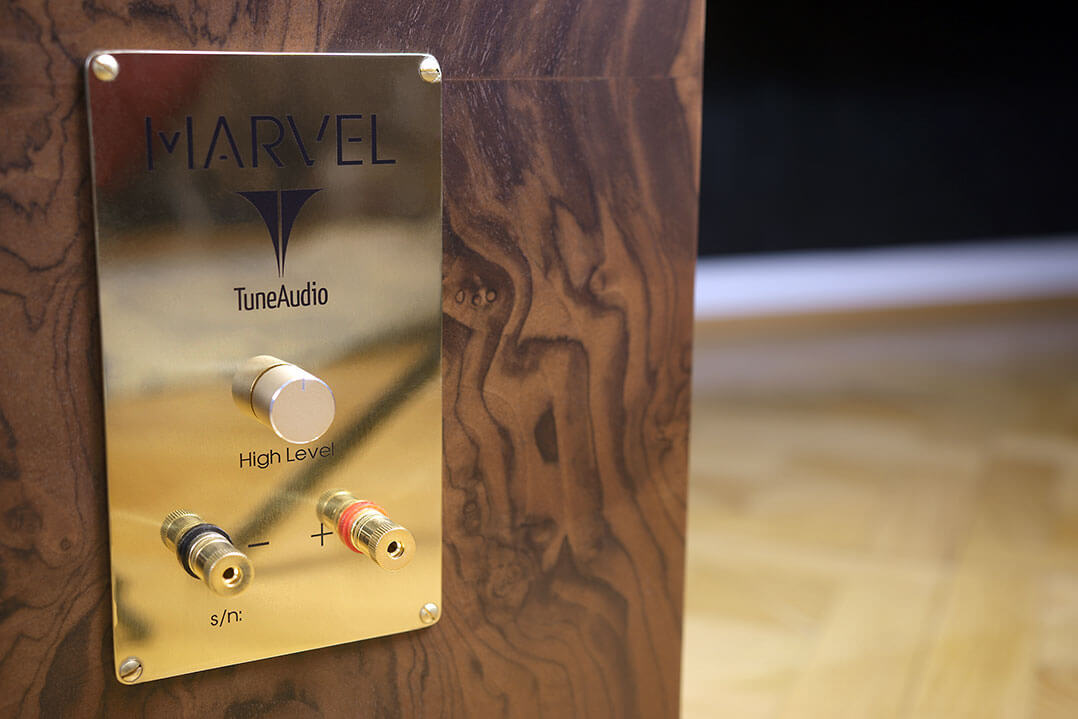 Terminal der Tune Audio Marvel