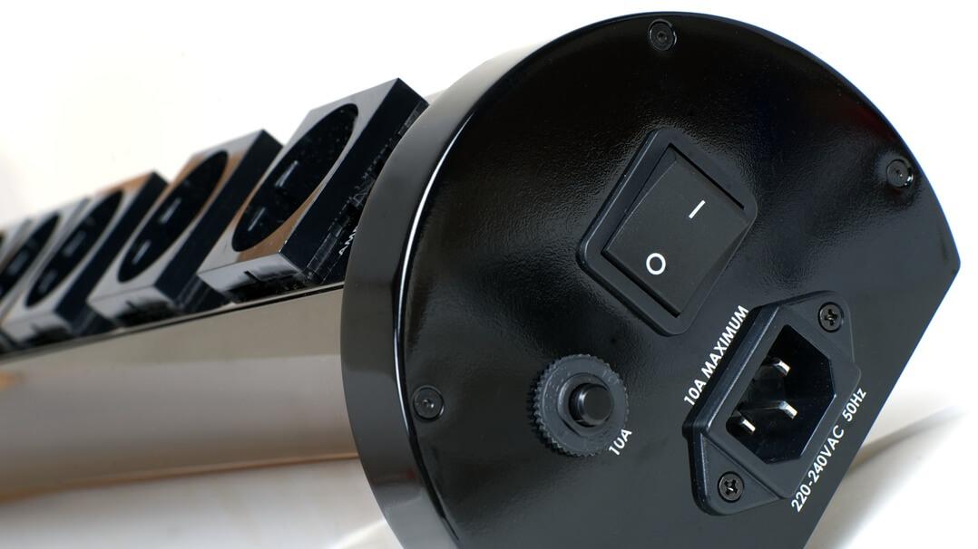AudioQuest Niagara 1000 Filter-Netzleiste Ein-/Ausschalter