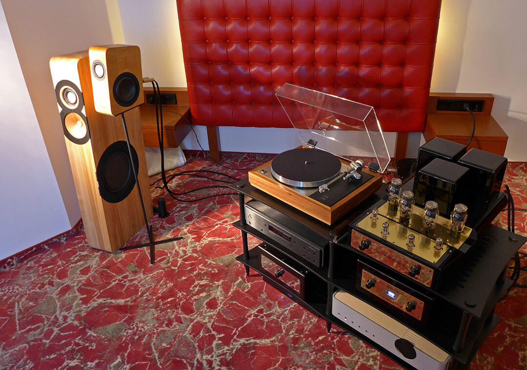 Boenicke Audio Set-up