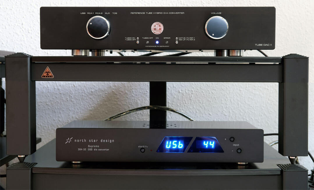 Accustic Arts Tube DAC II Mk 3 und Northstar Supremo