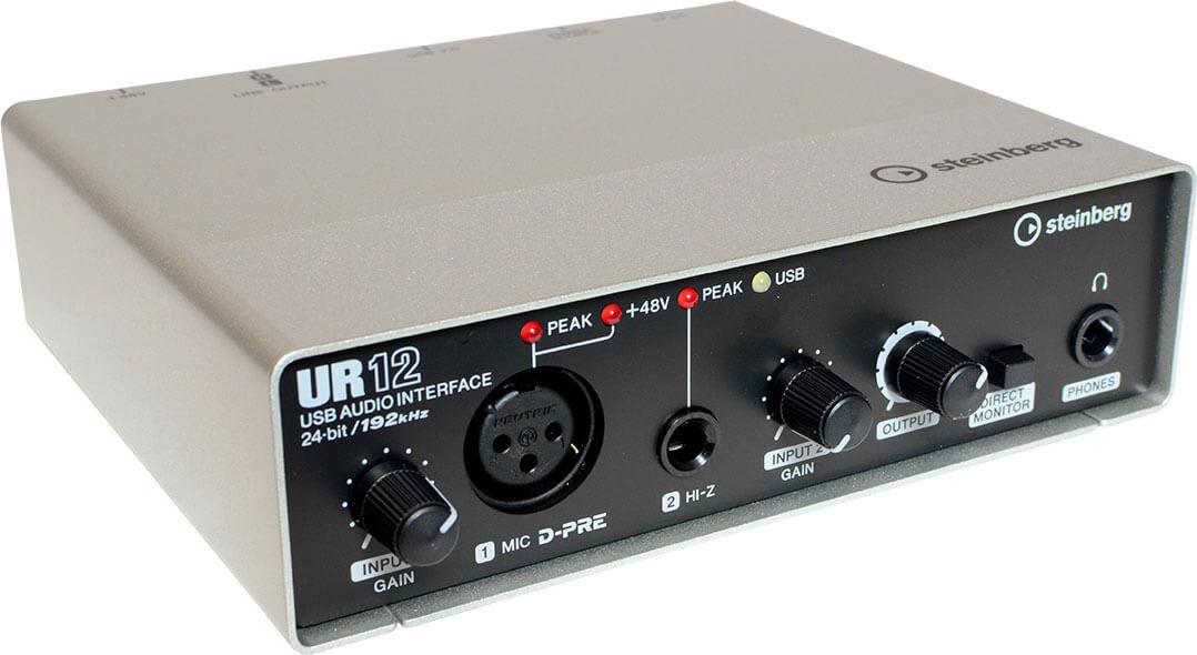 USB-Box zum Anschluss des Mikrophons an den MusikServer II