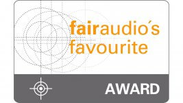 fairaudio's favourite Award 2018