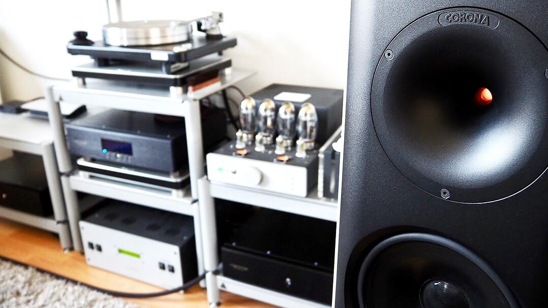 Tsakiridis Aeolos Ultra mit Lansche-Lautsprecher