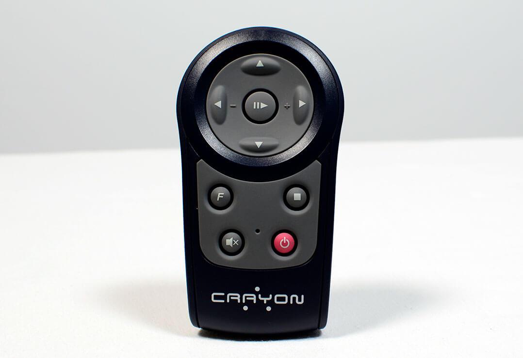 Fernbedienung des Crayon CIA-1