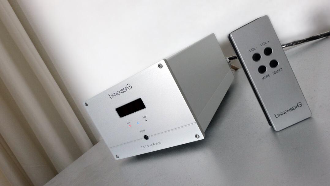 Linnenberg Telemann DAC/Vorstufe in Silber