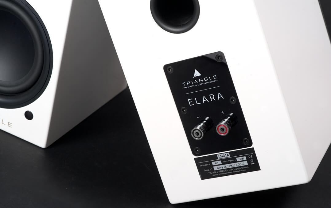 Das Triangle-Duo besteht aus einer Master-Box, die die Elektronik enthält, und einem passiven Lautsprecher