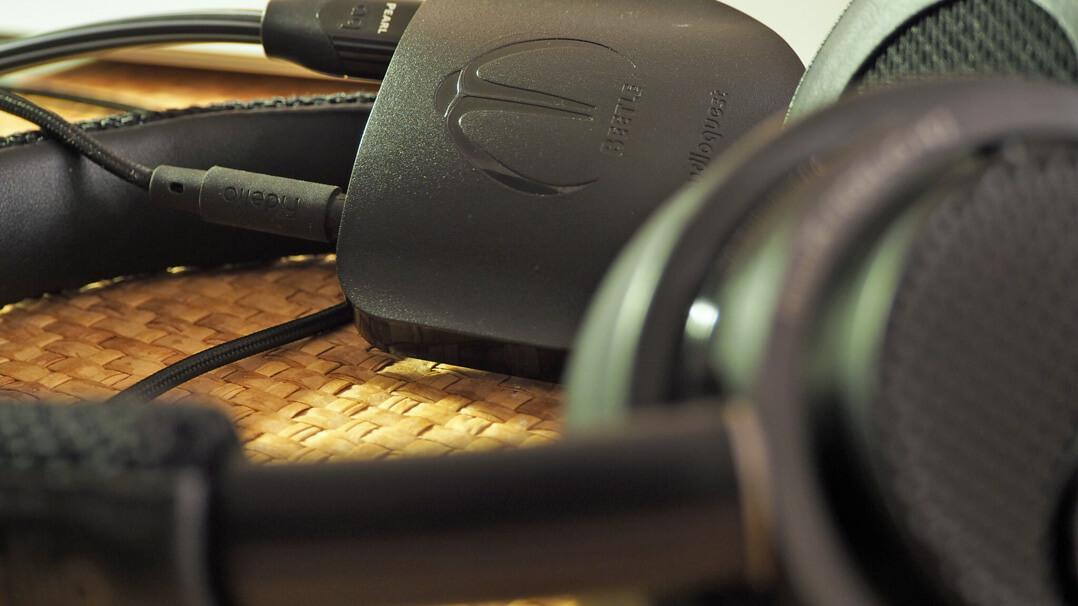 Audioquest Beetle Kopfhörerverstärker mit Over-Ear
