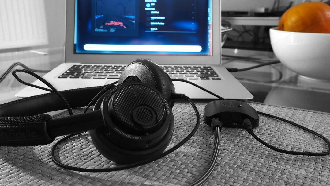Audioquest Beetle D/A-Wandler am Rechner