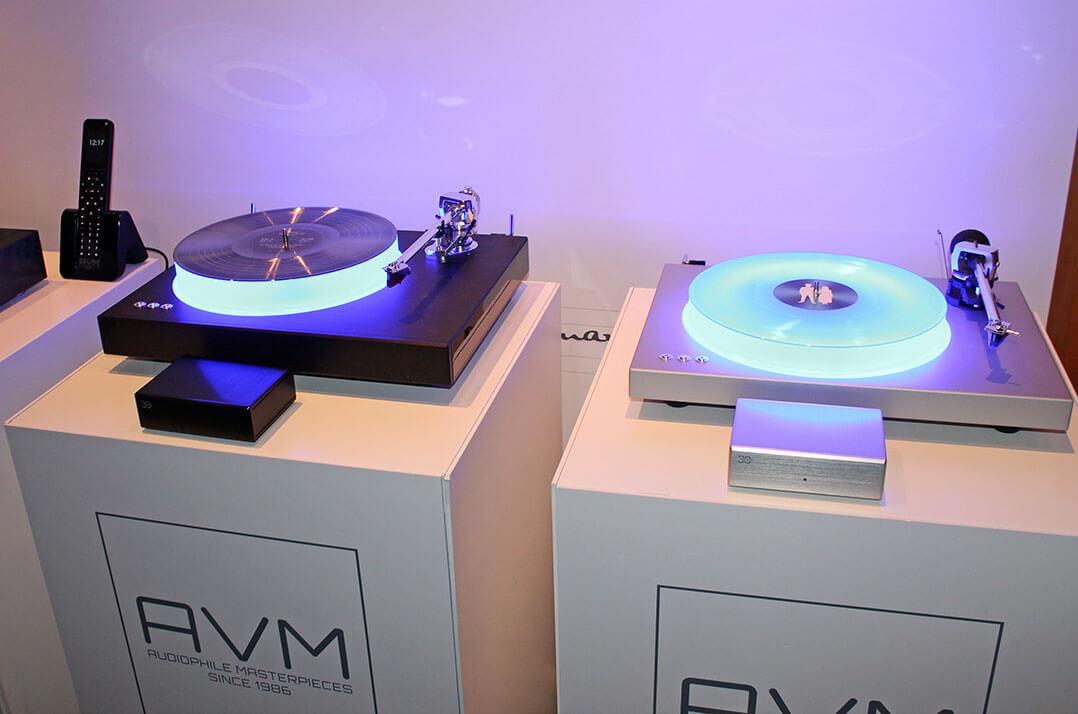AVM präsentiert neue Plattenspieler