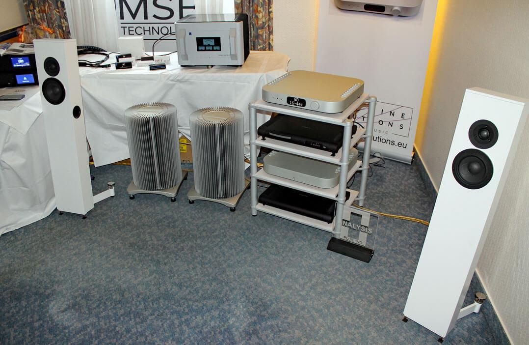 Elektronik von MSB, Lautsprecher von Stereokonzept