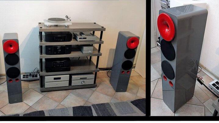 hORNs Aria & S47/L47 - neue Lautsprecher & Racks