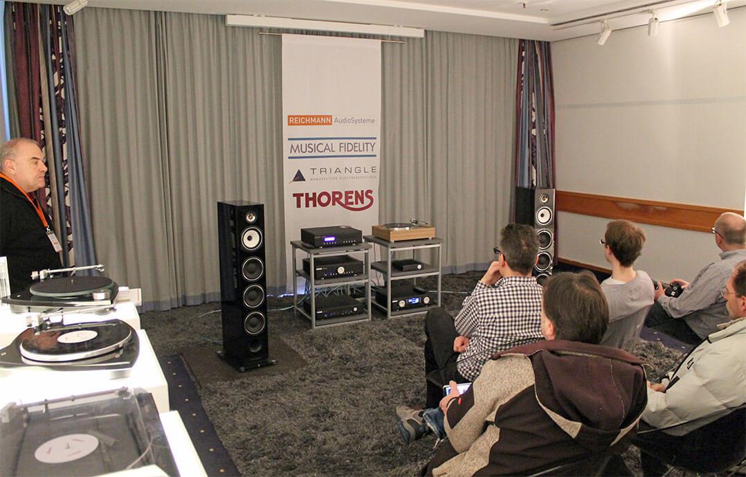 Anlage im Raum von Reichmann Audio Systeme