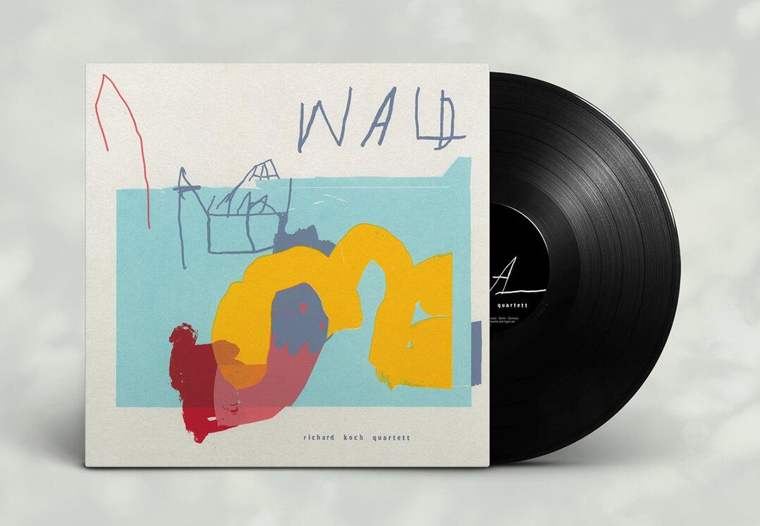 Richard Koch Quartett Wald Vinyl