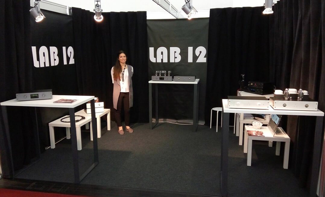 Messestand von Lab 12 auf der High End 2016