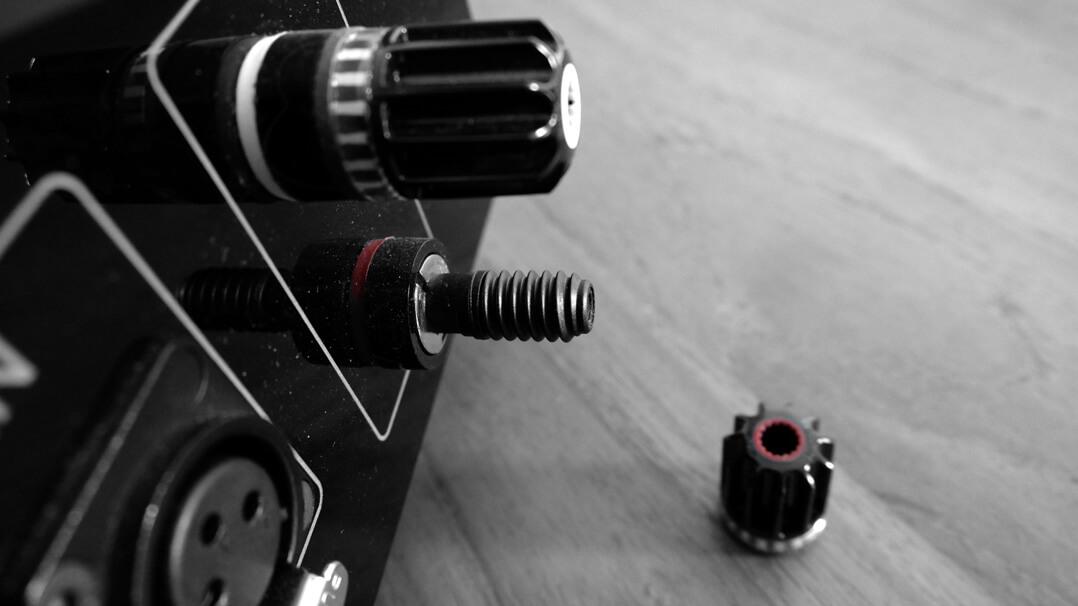 Genuin Nimbus – Stereo-Endverstärker Anschlüsse Detail