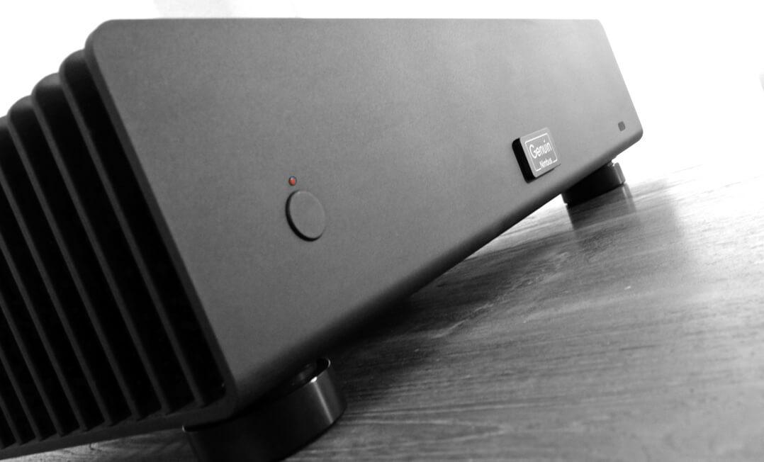 Genuin Nimbus – Stereo-Endverstärker Powerknopf