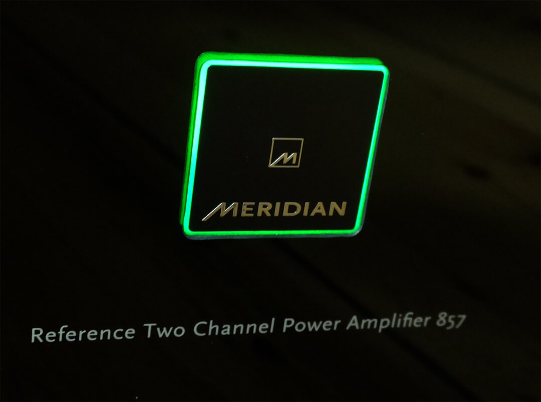 Meridian 857 Reference im Betrieb