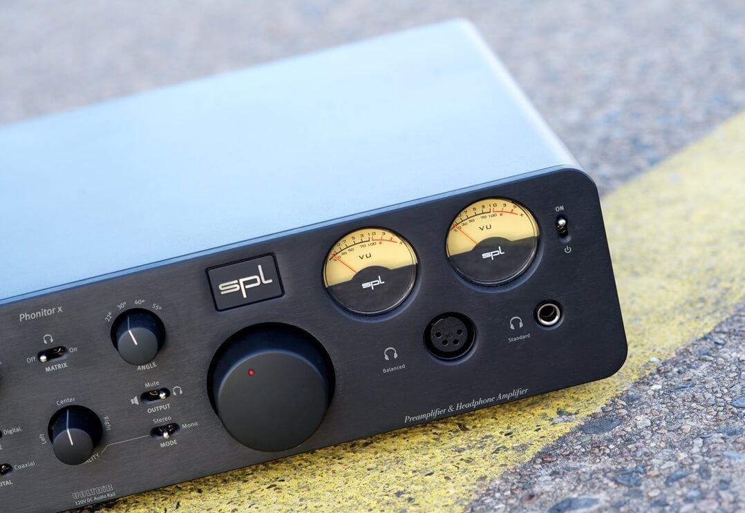 SPL Phonitor x Kopfhörerverstärker Pegelanzeige