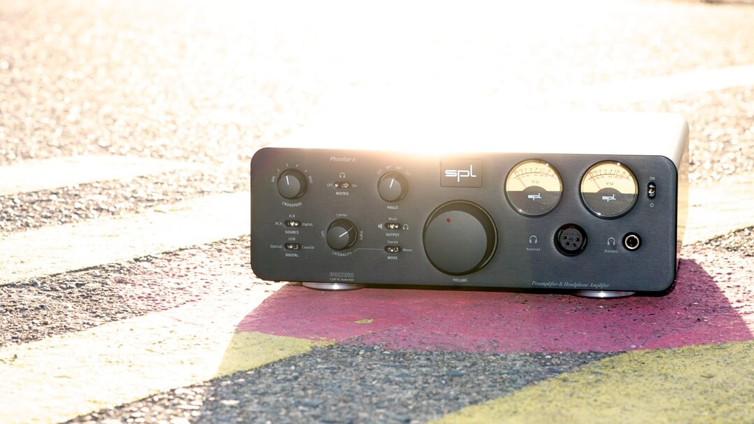 SPL Phonitor x Kopfhörerverstärker totale