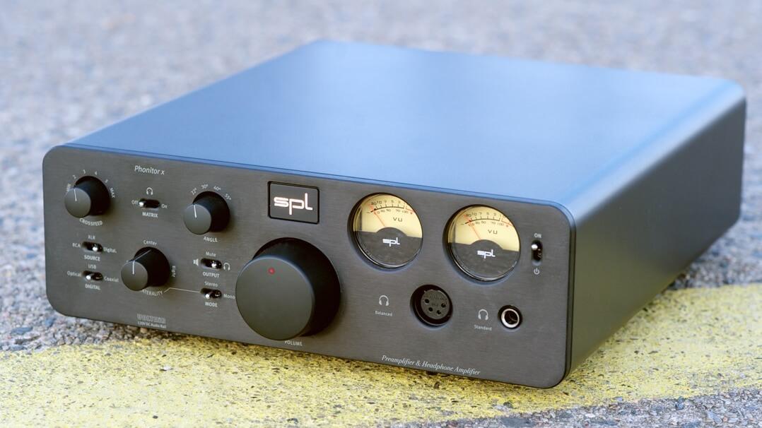 SPL Phonitor x Kopfhörerverstärker Bedienfeld
