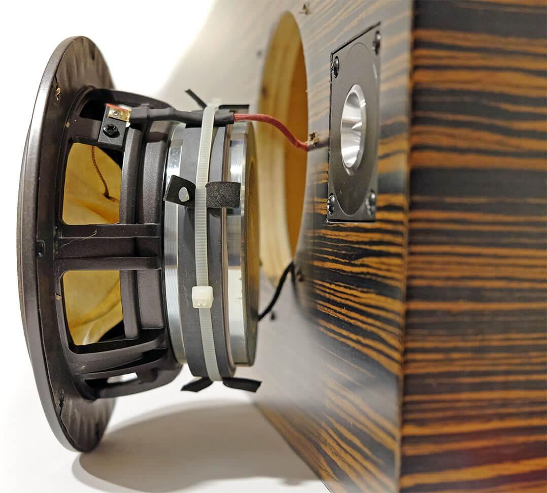 Das Fostex-Breitbandchassis der Tune Audio Prime