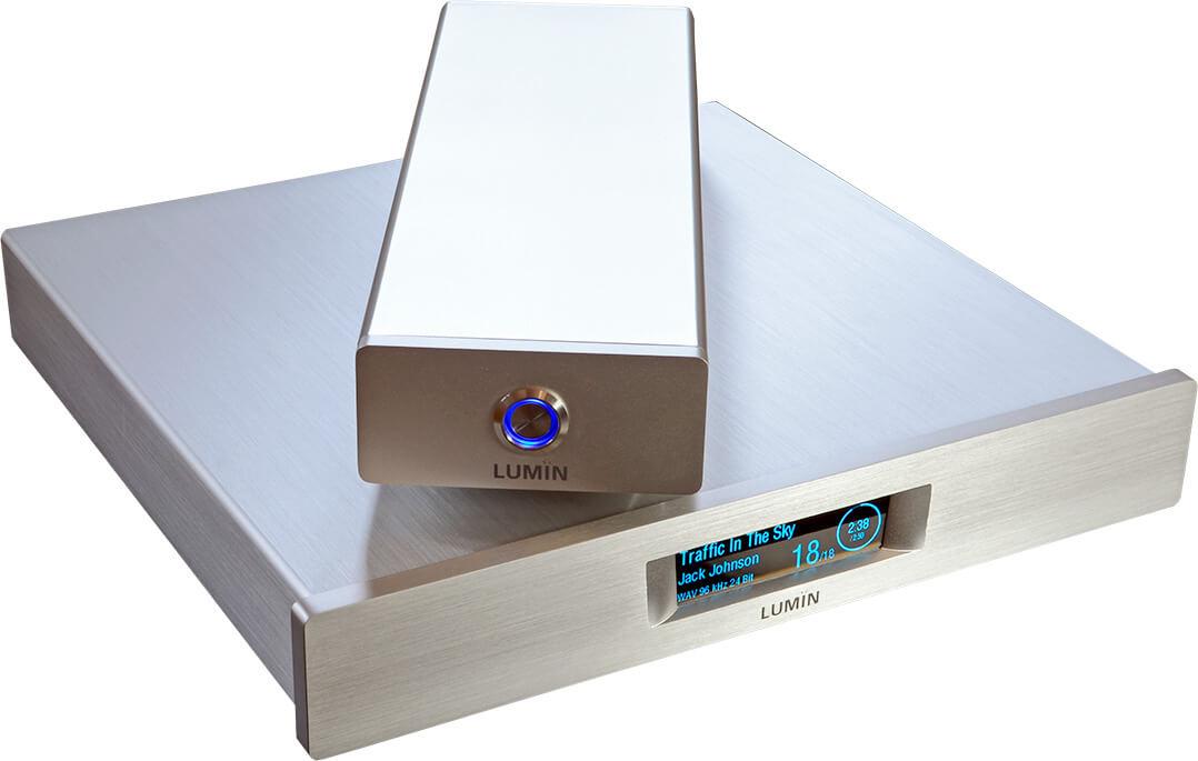Der Lumin T1 besitzt ein externes Linearnetzteil