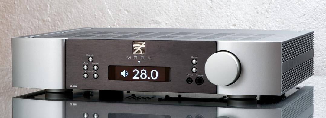 Moon Neo 240i - Lautstärkeeinstellung