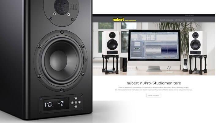 www.nuprofi.de: neue Website von Nubert zur nuPro-Linie