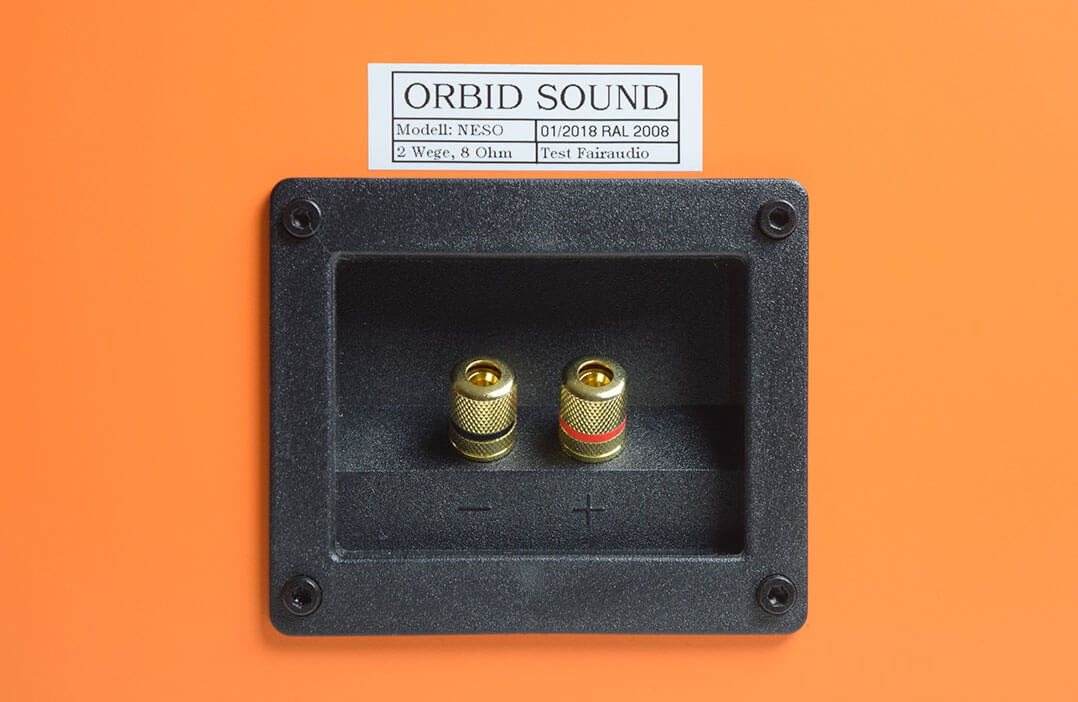 Orbid Sound Neso Anschlüsse Detail