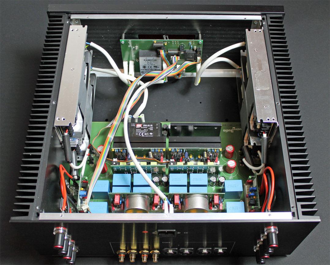 Progressive Audio A901 Innenansicht