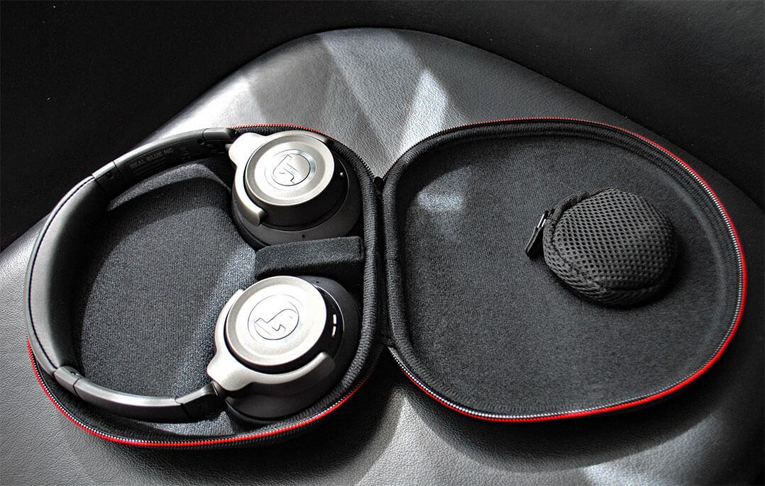 Teufel Kopfhörer Real Blue NC Softcase offen