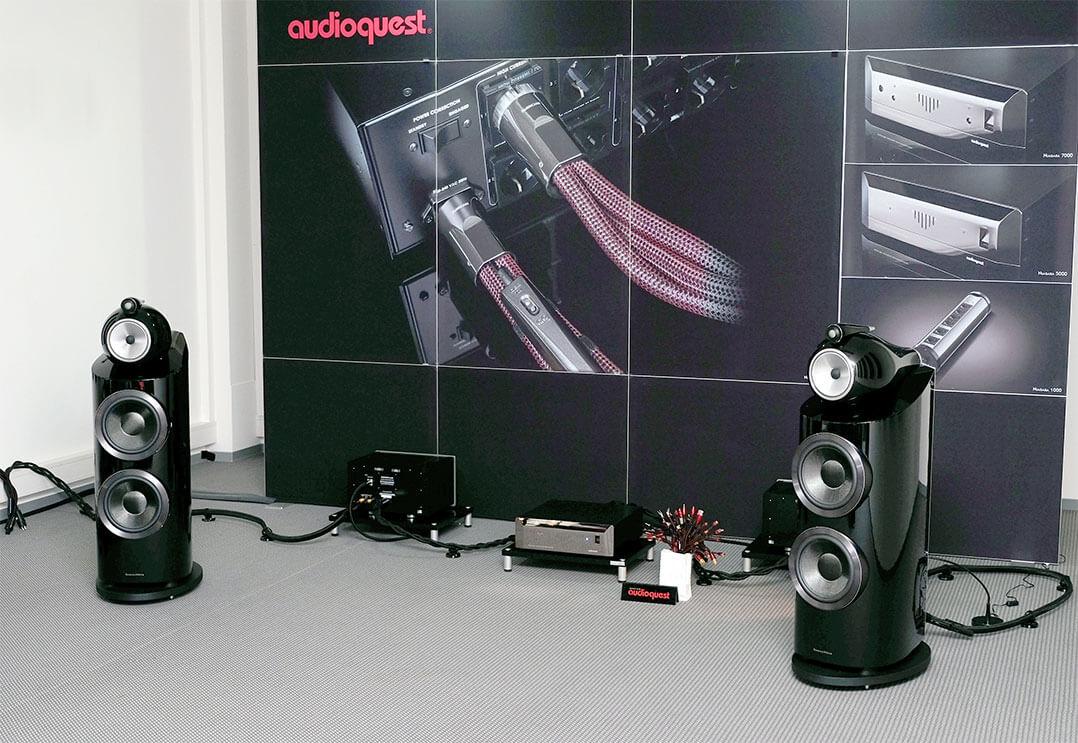 Vorführung bei AudioQuest