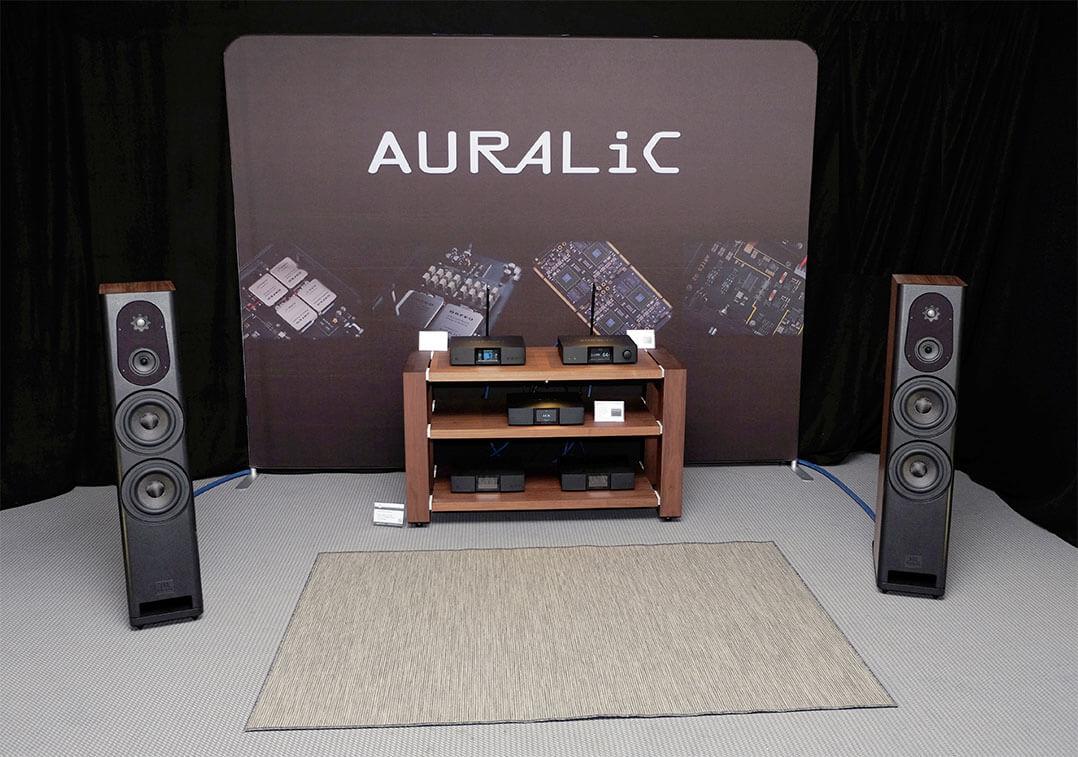 Vorführanlage bei Auralic