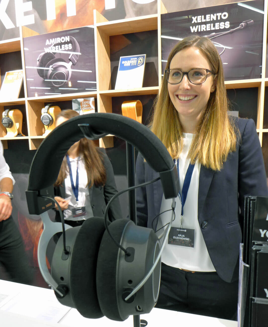 Beyerdynamic Amiron Wireless [mit Anja Olschewski, Head of Marketing]