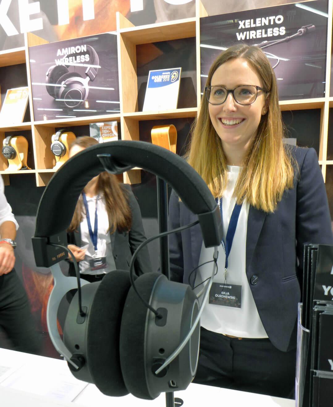 Beyerdynamic Amiron Wireless [mit Anja Olschewski, Head of Marketing]
