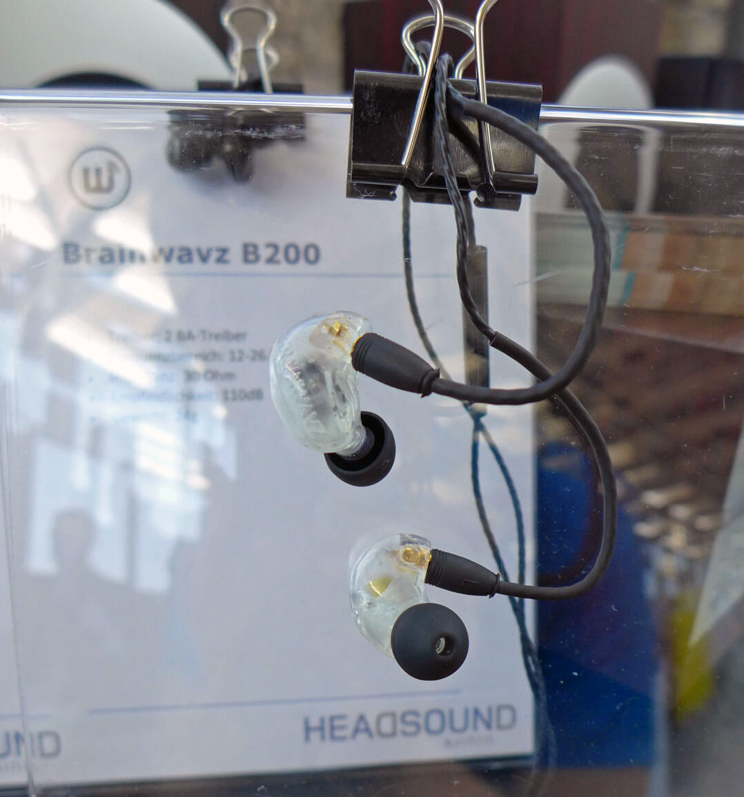 Brainwavz B400 Quad-BA-In-Ear