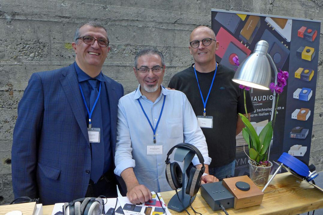 Die drei Firmengründer Vittorio, Giovanni und Pio
