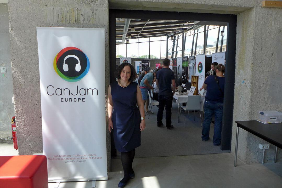Can-Jam-Organisatorin Juliane Thümmel und die Eventlocation Kohlebunker