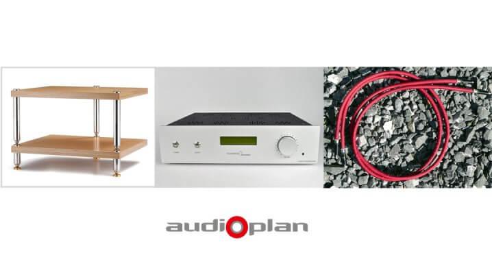Audioplan: Neue Verstärker & Racks - Jadis, Tsakiridis, Lovan