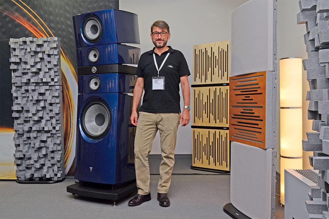 Focal-Produktspezialist Dalibor Beric und seine neue Grande
