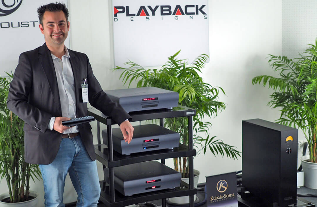 Bert Gerlach von Playback Designs