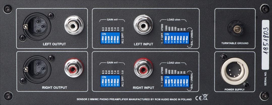 RCM Audio Sensor 2 - Rückseite