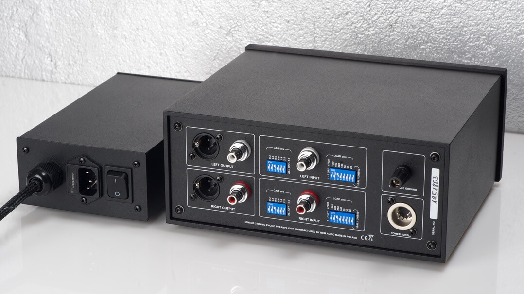 RCM Audio Sensor 2 von hinten