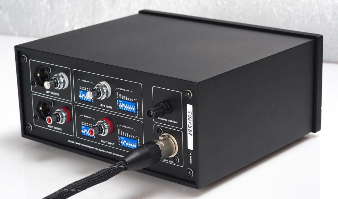RCM Audio Sensor 2 - Anschlussfeld