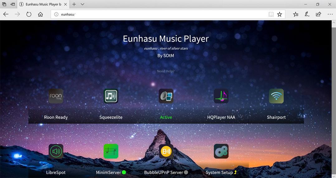 Eunhasu DLNA/UPNP Active