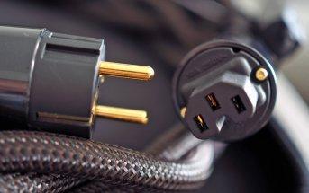 Audioquest Thunder Stecker für Gerät und Steckdose