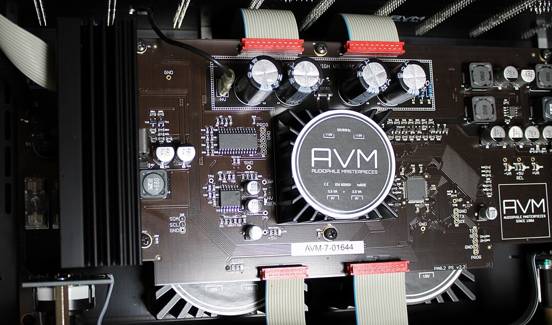 AVM Ovation PA8.2 innen Detail