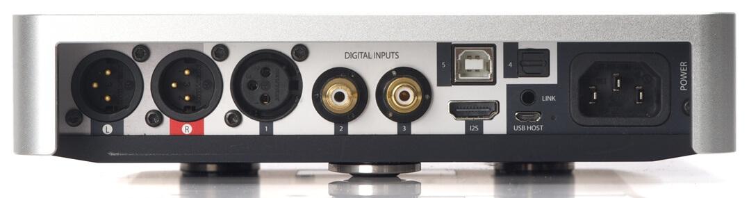 Rückseite DiDiT DAC 212SE