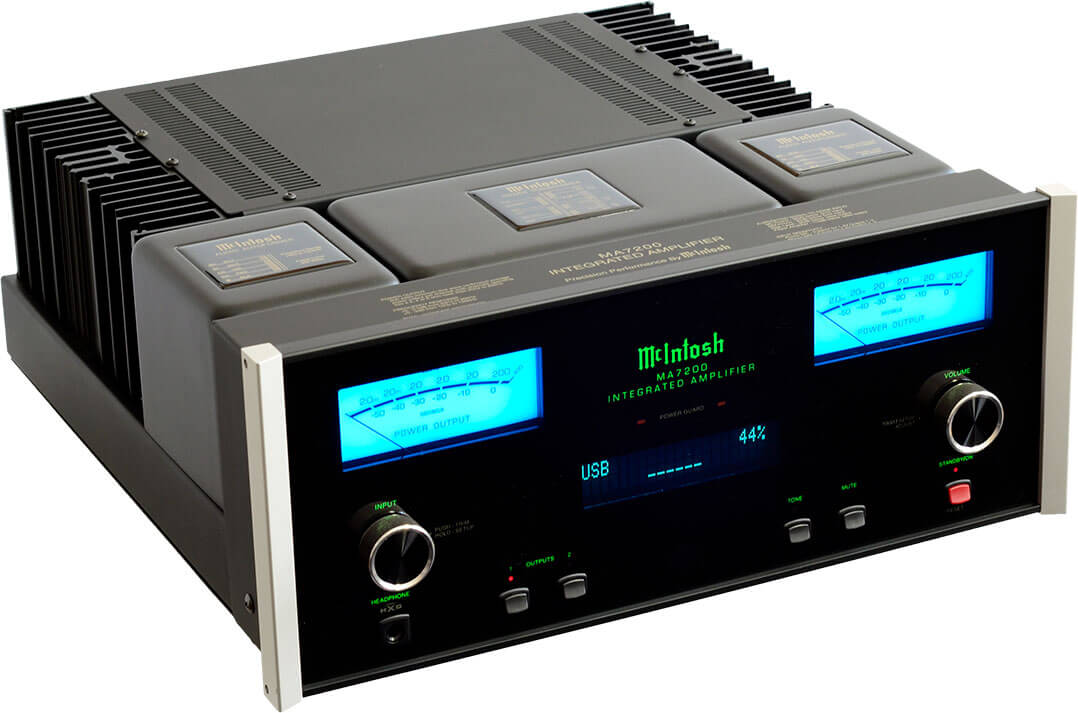 McIntosh MA7200 AC, vorne-links