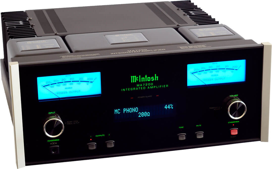 McIntosh MA7200 AV, von vorne